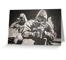 Elite Forces Greeting Card