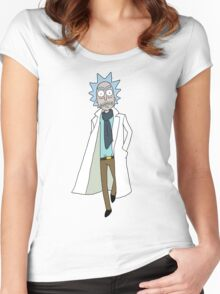Rick Sanchez  Women's Fitted Scoop T-Shirt