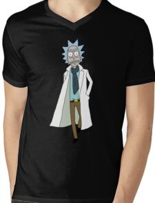 Rick Sanchez  Mens V-Neck T-Shirt