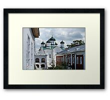 view of the Ipatiev Monastery in spring Framed Print