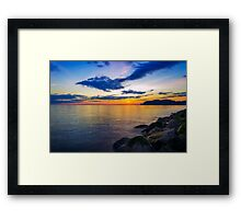 Orme Sunset Framed Print