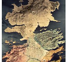 Game of Thrones Westeros by Kris Armitage