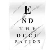End the occupation Poster