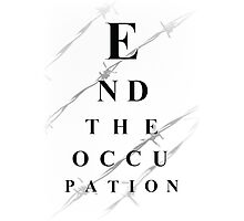End the occupation Photographic Print