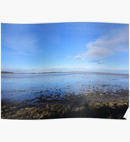 Northumberland Coast View Poster