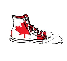 Basketball Shoe Canada 1 Photographic Print