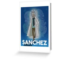 Sanchez Greeting Card
