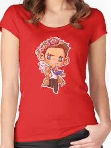 UGH Cas Women's Fitted Scoop T-Shirt