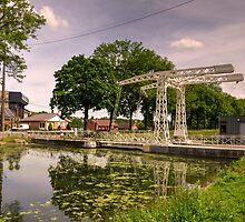 The Old Lifting Bridge  by Rob Hawkins