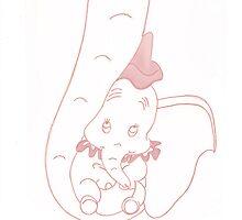 Dumbo Baby Girl by BURNING-BRIGHT