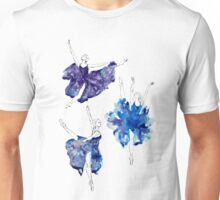 Watercolour Ballerinas Unisex T-Shirt