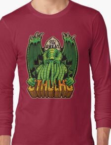 The Great Cthulhu Long Sleeve T-Shirt