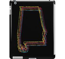 alabama rainbow blur iPad Case/Skin