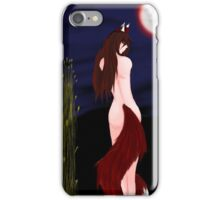 Wolf of the harvest iPhone Case/Skin