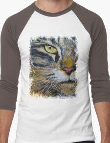 Norwegian Forest Cat Men's Baseball ¾ T-Shirt