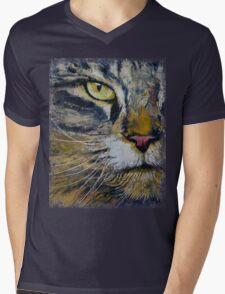 Norwegian Forest Cat Mens V-Neck T-Shirt