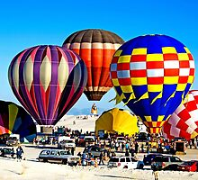 White Sands Balloon Fest by David DeWitt
