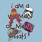 Woman of Many Hats by uncmfrtbleyeti