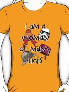 Woman of Many Hats T-Shirt