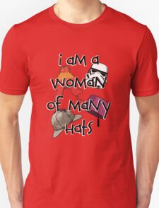 Woman of Many Hats T-Shirt