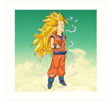 Super Saiyan Boomhauer  Art Print
