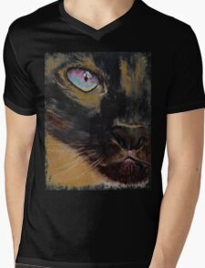 Siamese Mens V-Neck T-Shirt