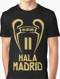 Hala Madrid Champions 11 Graphic T-Shirt