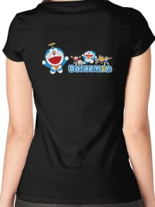Doraemon Women's Fitted Scoop T-Shirt