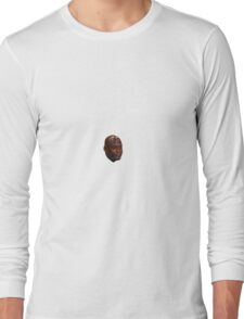 Crying Jordan Face Long Sleeve T-Shirt