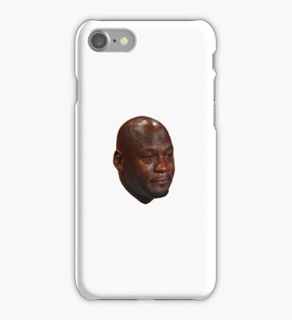 Crying Jordan Face iPhone Case/Skin