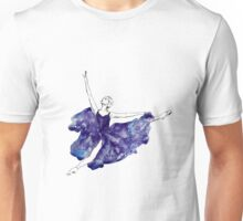 Watercolour Ballerina Unisex T-Shirt