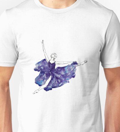 Watercolour Ballerina Unisex T-Shirt