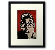 Spike Lee Painting  Framed Print