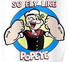Fly Like Popeye Poster