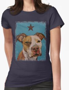 American Pit Bull Womens Fitted T-Shirt