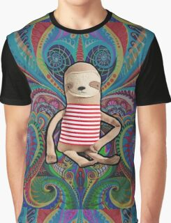 Trippy Sloth no. 1 Graphic T-Shirt