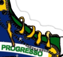 Basketball Shoe Brazil Brasil Sticker