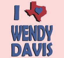 I Heart Wendy Davis #2 Kids Clothes