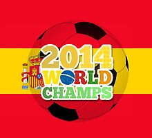 2014 World Champs Ball - Spain by crouchingpixel