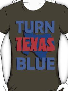 Turn Texas Blue #2 T-Shirt