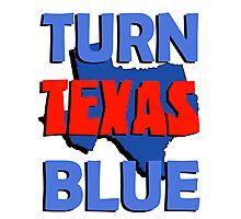 Turn Texas Blue #2 Photographic Print