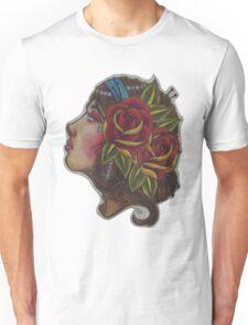 Gypsy Girl, Tattoo Style  Unisex T-Shirt