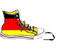 Basketball Shoe Germany Photographic Print