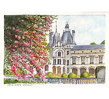 Château de Brézé in the Loire Valley of central France Photographic Print