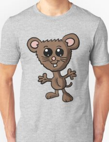 Cute Mouse Cartoon  Unisex T-Shirt