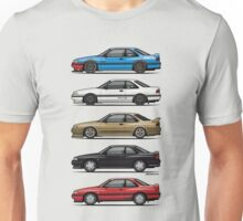 Stack of Mazda MX6s Unisex T-Shirt