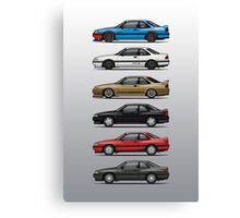 Stack of Mazda MX6s Canvas Print