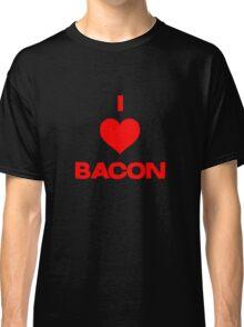 I heart bacon Classic T-Shirt
