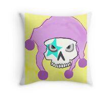 JOKER SKULL Throw Pillow
