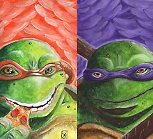 TMNT Reunited by outofthedust